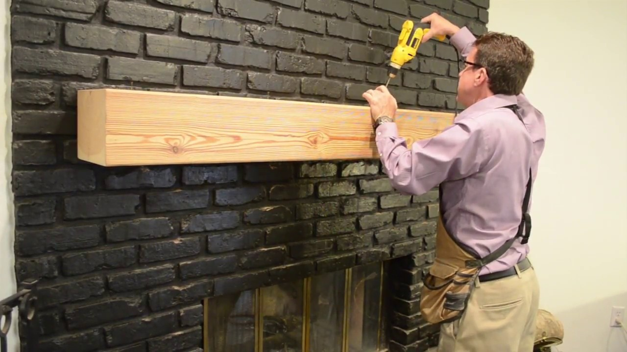 How To Install A Hollow Mantel With Richard L Ourso Ckd Caps You