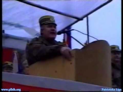Genocidasi - Ratko Mladic - Smotra  Vlasenica - Oktobar '95