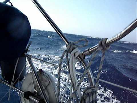 Sailing in Otranto Strait