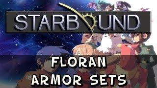 Starbound - Floran Armor Sets