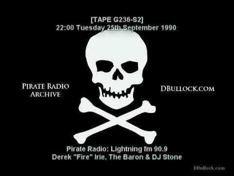 [G236-S2] Lightning fm ~ 25/09/1990 ~ Pirate Radio