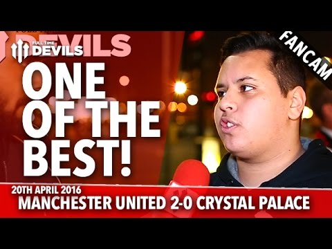 One Of The Best! | Manchester United 2-0 Crystal Palace | FANCAM