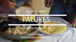 Palukes Cooking class/ Palukes Koch Unterricht - (Transylvanian Saxon Documentary)