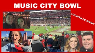 MUSIC CITY BOWL DAY 2! WE WON!!!