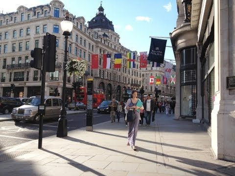 Grandest Shopping Streets: London's Oxford Street and Regent Street