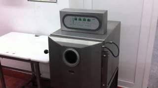 Machine sous vide verticale