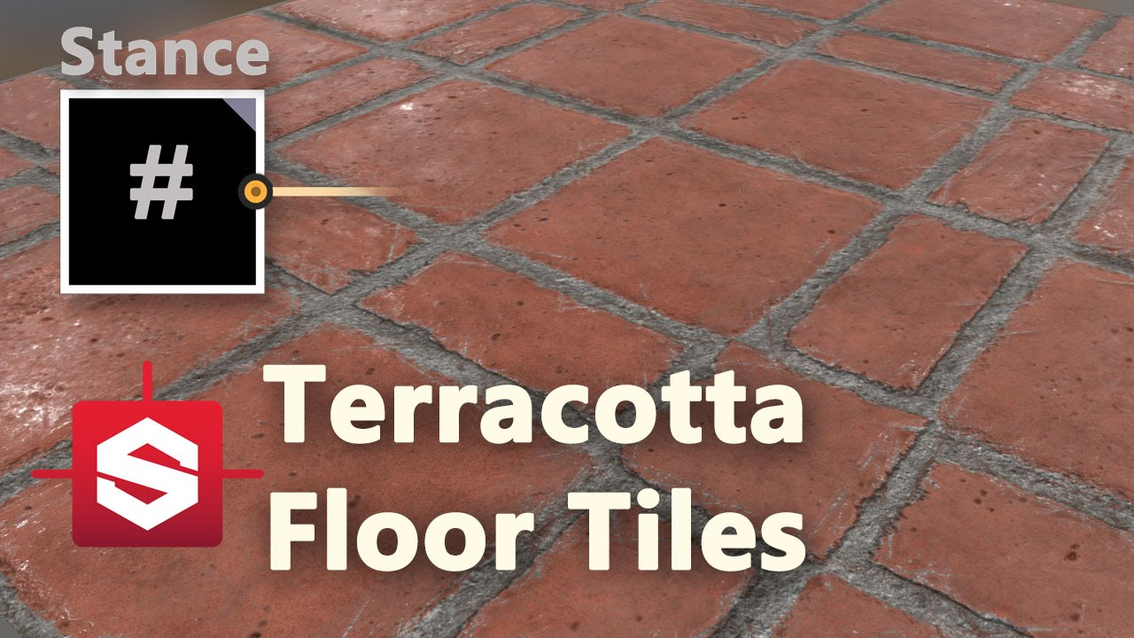 Terracotta floor tiles substance designer material breakdown youtube dailygadgetfo Images