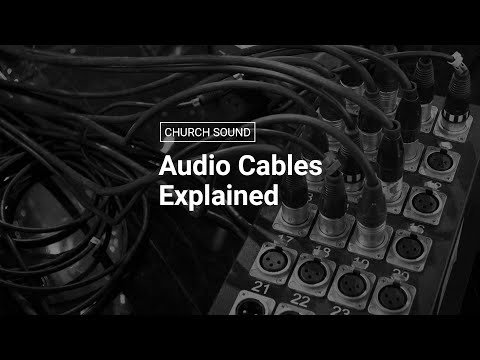 Audio Cables Explained | Balanced Vs Unbalanced Cables