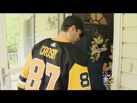 Crosby Delivers Tickets To Lucky Fan's Home