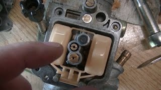 Honda Foreman 400 carb and gas tank cleaning