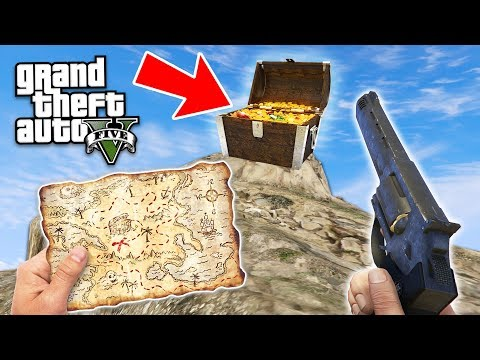 GTA 5 *RED DEAD REDEMPTION 2* TREASURE HUNT!! GTA 5 DOOMSDAY HEIST NEW UPDATE!