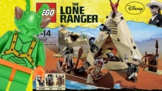 Lego Lone Ranger Comanche Camp Review 79107