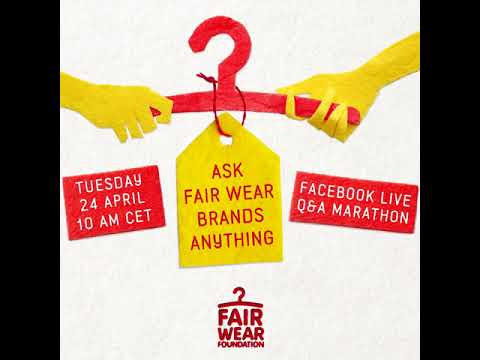Ask Fair Wear brands anything