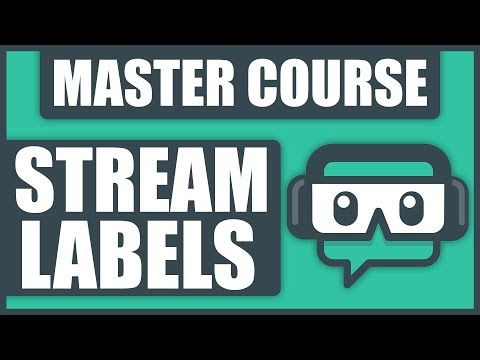 How To Add Stream Labels To Streamlabs OBS [2019]
