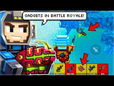 Pixel Gun 3D   17.4.0 Update RELEASED OMG! Gadgets In Battle Royale!