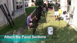 How To Assemble A Delgard Fence