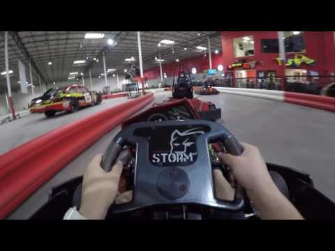 Indoor Electric GoKarts - Tampa Bay Grand Prix - Race 3