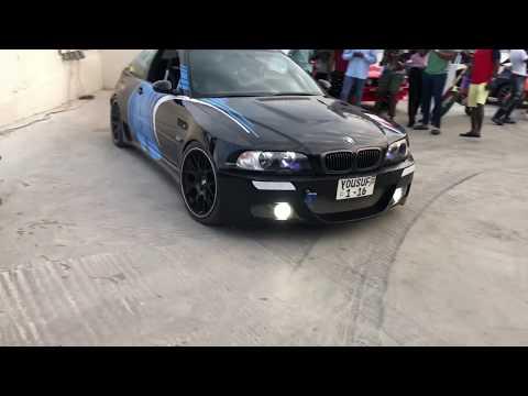 BMW E46 M3 || Revs & Drifting  ||Bits of Accra Auto Show 2018|| Ghana ||