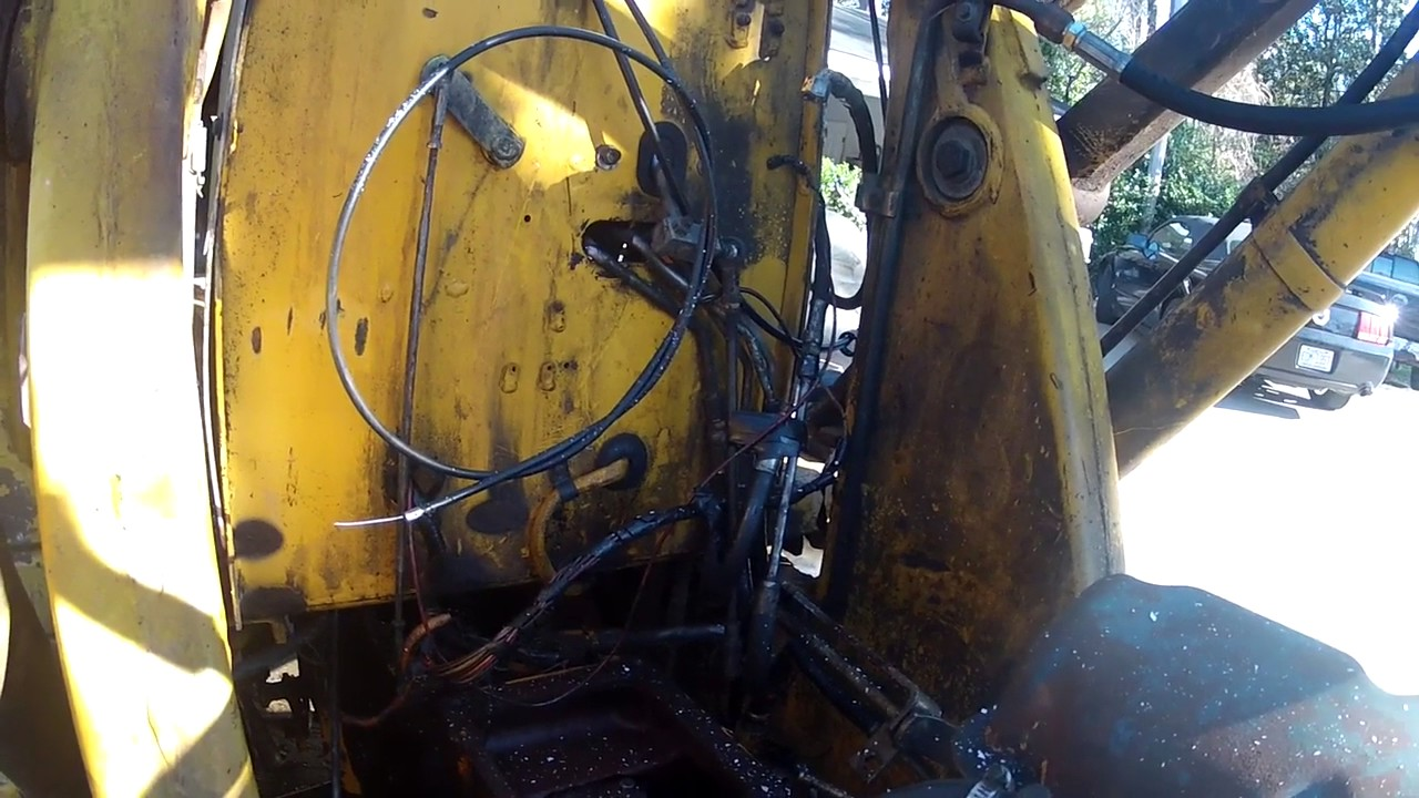 Ford 555 Backhoe Transmission Issues Part 3 Prepped