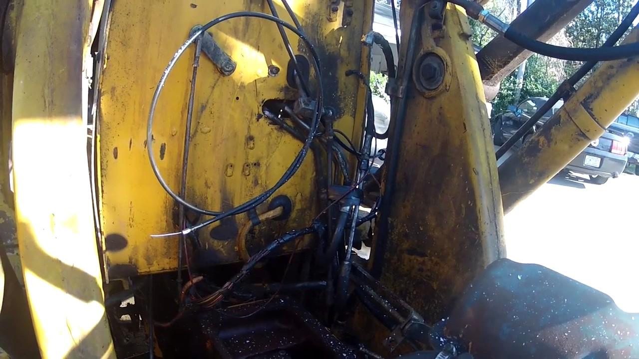 Check Transmission Fluid >> 1981 Ford 555 Backhoe Transmission Issues Part 3 (Prepped ...