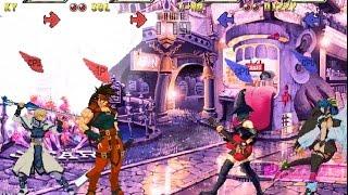 Guilty Gear Isuka (2 vs 2) gameplay