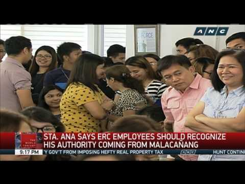 ERC officials question Salazar's move to appoint OIC