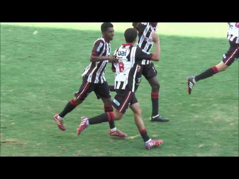 Gols - Nacional x Rubro Negro /// Sub-17 e Sub-15