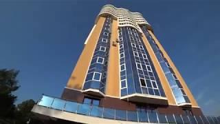 ЖК Солнечный Дагомыс, мини-обзор квартирного 19-эт. дома в Сочи, придомовая территория