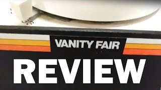 Vanity Fair Vintage Record Player (Review)