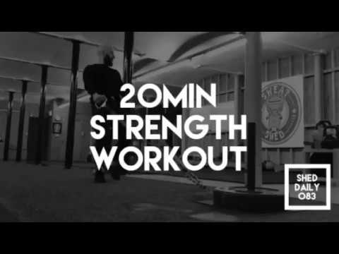 Full Body Strength Circuit   Shed Daily 083
