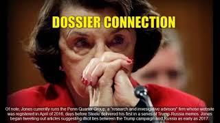 HAPPENING NOW: Senator Dianne Feinstein Was Just Connected to Dirty Dossier