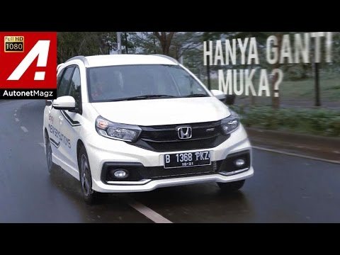 Review Honda Mobilio Rs Facelift 2017 Supported By Hsr Wheel Youtube