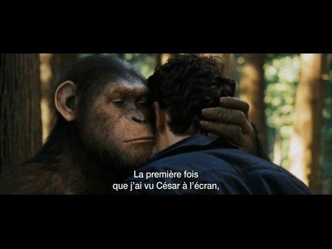 La Planète des singes : Les origines - Super Trailer Vost poster