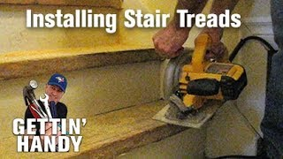 How to Fix and Retread Stairs