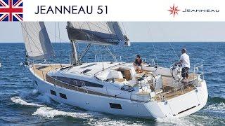 Jeanneau 51 - Exterior Layout - Jeanneau Yachts