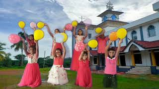 Christian  Action Song || Praise  Praise || Anshitha \u0026 Team || St. Mary's Church Nettana