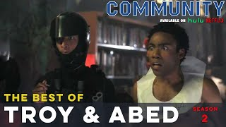 Best of Troy and Abed: Community S02  |  LeoAshe.com