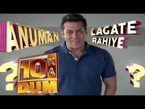 Dus ka Dum 3|Title Full Song|Salman...