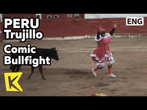 【K】Peru Travel-Trujillo[페루 여행-트루히요]코믹 투우 경기/Comic Bullfight/Colosseum/Bullring/Stadium