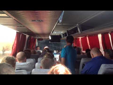 Безобразная организация подачи автобусов в Анапе для переправы в Крым.06.07.2015