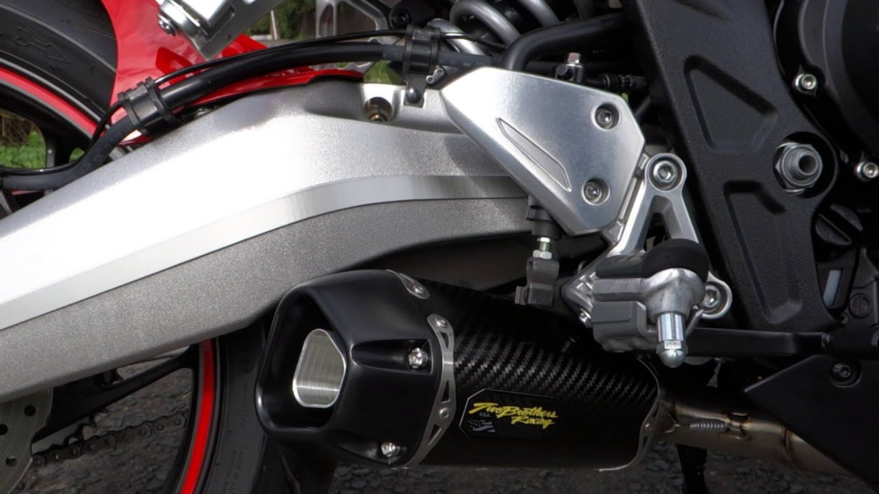 Honda Cbr 650f Two Brothers Exhaust Youtube