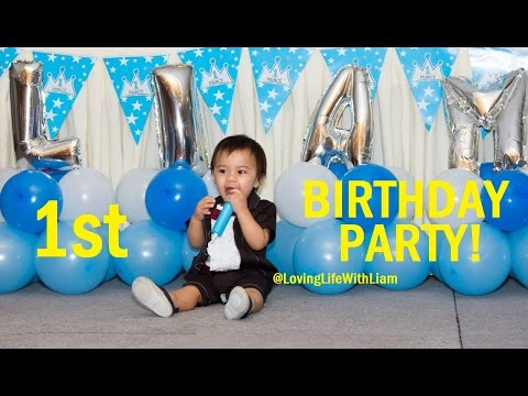 Cute baby boy 1st birthday ideas