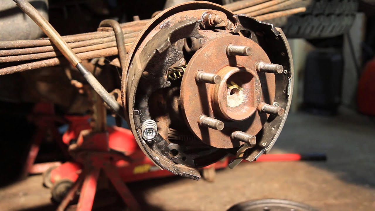 How To Drum Brake Installation 2002 Dodge Dakota Youtube