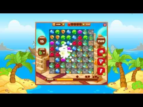 Сокровища пиратов 3599 уровень на три звезды