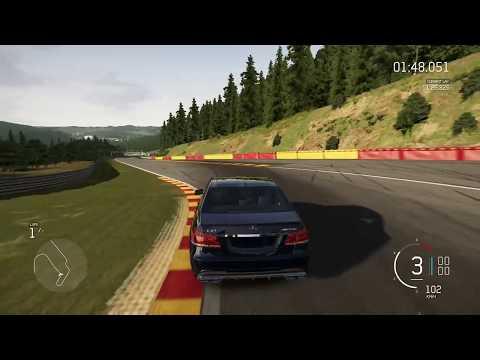 Forza 6 - Mercedes-Benz E63 AMG on Spa. سيارة ميرسيديس بينز اي ثلاثة وستين في فورزا السادسة