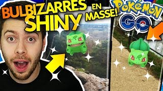 DES BULBIZARRES SHINY EN MASSE + GAGNANTS !! - Pokémon Go