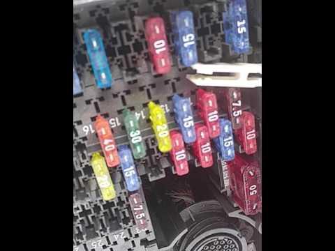 Where\u0027s My OBDII Fuse? Mercedes E320 19 2 16 - YouTube