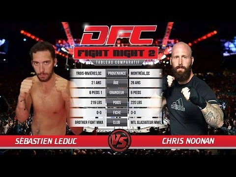 Chris Noonan VS Sébastien Leduc