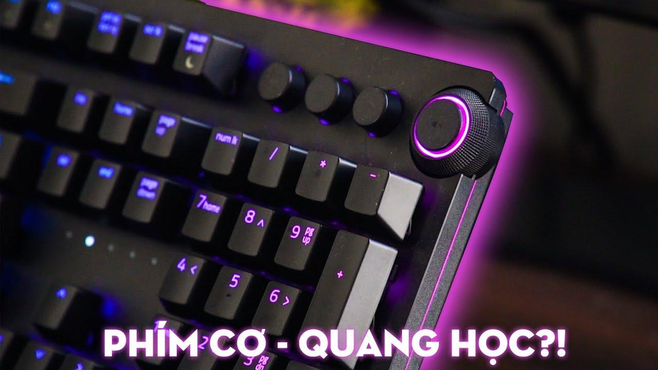 Trên tay bàn phím cơ Razer Huntsman Elite: MỚI và ĐẮT nhưng có ĐÁNG?