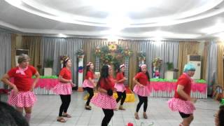 SJDM AND SMB CHRISTMAS PARTY DANCE PRESENTATION 2012